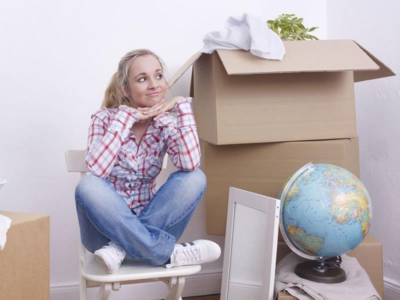 Self Storage Davis Packing Boxes